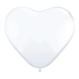 Balony SERCA białe 20 cm, 6 sztuk