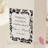 Pudełko na alkohol – personalizacja kolekcja DAMASK