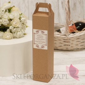 VINTAGE Pudełko na alkohol eko – personalizacja kolekcja VINTAGE