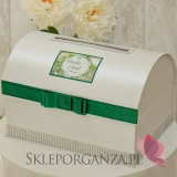 Pudełka na koperty ślubne Kuferek na koperty - personalizacja WOODLAND