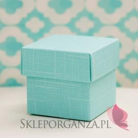 Pudełko kostka tiffany blue