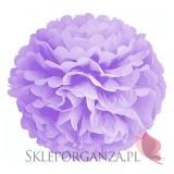 Papierowy kwiat, liliowy, 50cm