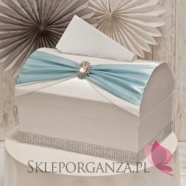 Kuferek na koperty KOKARDA - błękit