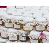 Miodziki weselne personalizowane Podziękowanie dla gości - miód - personalizacja KORONKA