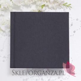 -Księga gości płotno czarne