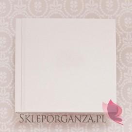 Tradycyjne -Księga gości skóra biała
