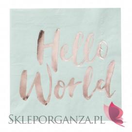 Kolekcja Hello World Serwetki KOLEKCJA HELLO WORLD, 20szt.