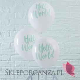 Balony KOLEKCJA HELLO WORLD, 10szt.