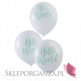 Kolekcja Hello World Balony KOLEKCJA HELLO WORLD, 10szt.
