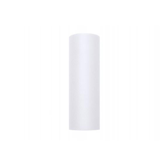 Tiul Tiul biały, rolka 15cm x 9m