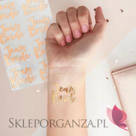 Kolekcja Team Bride Tatuaże KOLEKCJA TEAM BRIDE