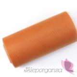 Tiul pomarańczowy, rolka 15cm x 25m