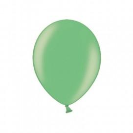 Balony METALICZNE mięta 25 cm, 100 sztuk