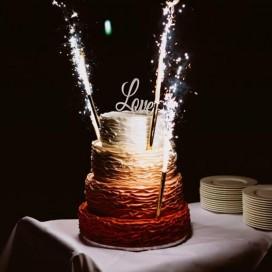 Fontanny i świeczki Fontanna tortowa 26cm
