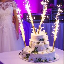 Fontanny i świeczki Fontanna tortowa 12cm