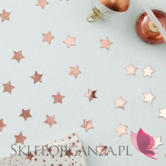 Kolekcja Gwiazdki Rose Gold na Święta Konfetti KOLEKCJA GWIAZDKI ROSE GOLD