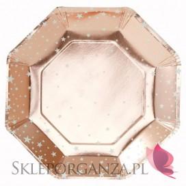 Kolekcja Gwiazdki Rose Gold Talerzyki KOLEKCJA GWIAZDKI ROSE GOLD