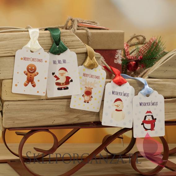 Opakowania do upominków świątecznych Świąteczne bileciki - ŚWIĘTA I