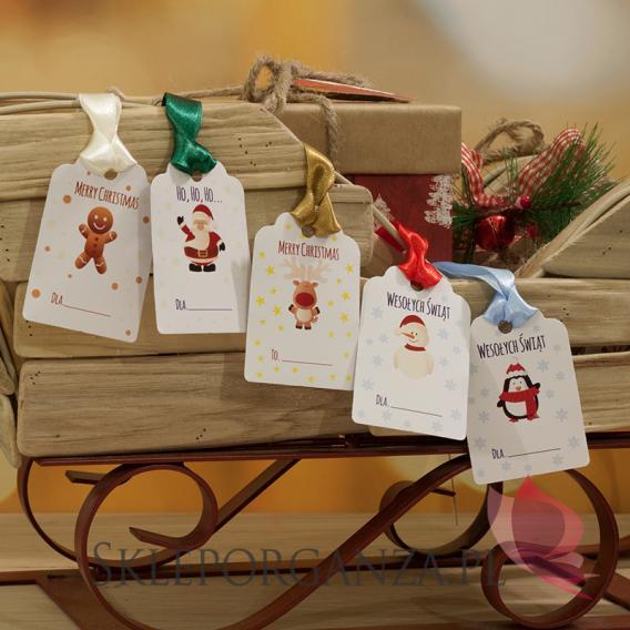 Opakowania do upominków świątecznych Świąteczne bileciki - ŚWIĘTA II