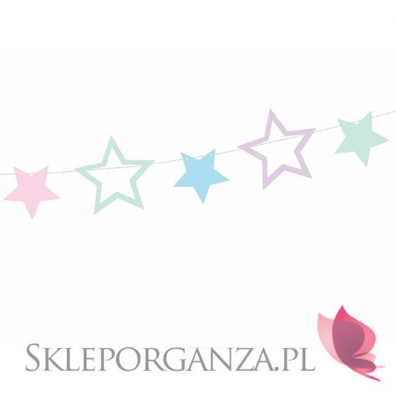 Kolekcja Jednorożec -Girlanda gwiazdki KOLEKCJA JEDNOROŻEC