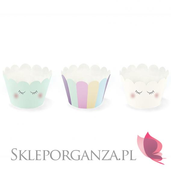 Kolekcja Jednorożec na Baby Shower Papilotki na muffinki KOLEKCJA JEDNOROŻEC