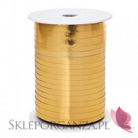 Balony metaliczne Metaliczna wstążka złota