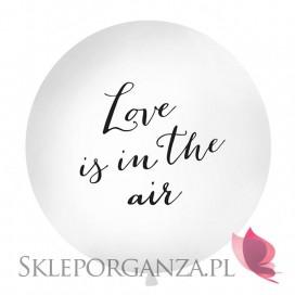 Balony olbrzym Balon olbrzym biały Love is in the air