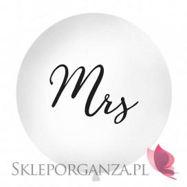 Balon olbrzym biały Mrs