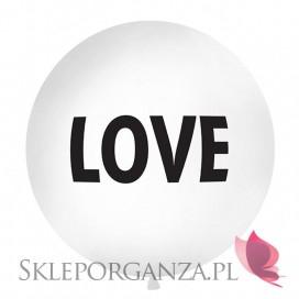 Balony olbrzym Balon olbrzym biały Love