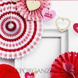 Rozety inne Rozety dekoracyjne LOVE, 3szt.