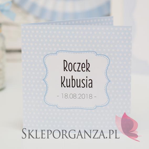 Kolekcja Kropeczki Zaproszenie Ze Zdjęciem Roczek Kolekcja Kropecz