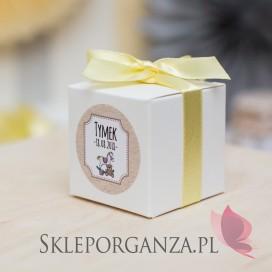 Kolekcja Konik na biegunach na Baby Shower Pudełko kostka KOLEKCJA KONIK NA BIEGUNACH – PERSONALIZACJA