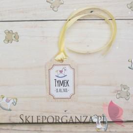 Kolekcja Konik na biegunach na Baby Shower Bilecik do upominków KOLEKCJA KONIK NA BIEGUNACH – PERSONALIZACJA