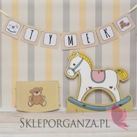 Kolekcja Konik na biegunach na Baby Shower Litera/znak do baneru KOLEKCJA KONIK NA BIEGUNACH