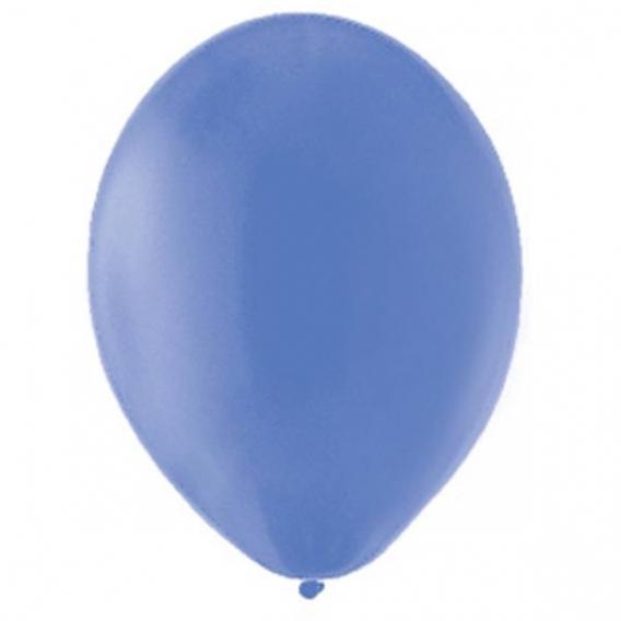Balony pastelowe Balony PASTELOWE niebieskie królewskie 25 cm, 100 sztuk