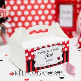 -Pudełko na ciasto KOLEKCJA BIEDRONKA – PERSONALIZACJA