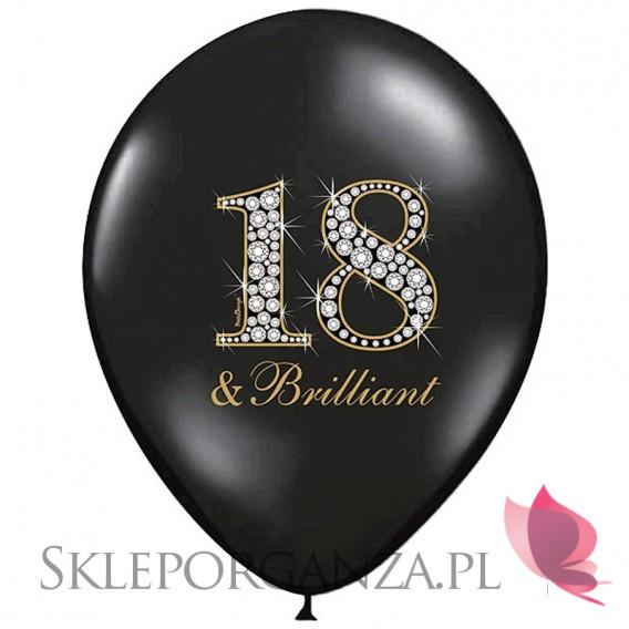 Balony z nadrukiem Balon 18 & Brilliant