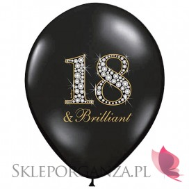 Balony z nadrukiem Balon 18 & Brilliant