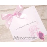 Zaproszenia ślubne Zaproszenie – personalizacja kolekcja – PIWONIA