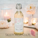 Etykieta na alkohol - personalizacja kolekcja AKWARELE PEONIA