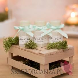 Bańka mydlana buteleczka - personalizacja kolekcja AKWARELE PEONIA
