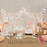 Bańki mydlane Bańka mydlana buteleczka - personalizacja kolekcja AKWARELE PEONIA