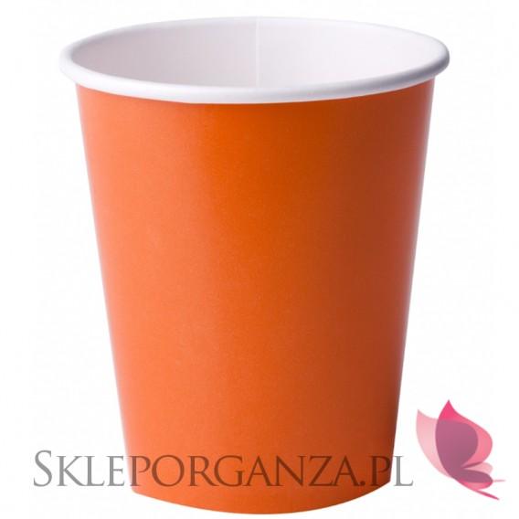 Kolekcja Koparka Kubeczki pomarańczowe 14szt.