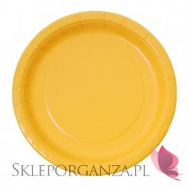 Kolekcja Koparka Talerzyki żółte 8szt.