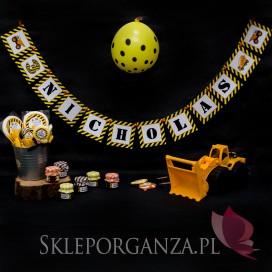 Kolekcja Koparka urodzinowa Litera/Znak do baneru KOLEKCJA KOPARKA - PERSONALIZACJA
