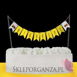 Kolekcja Koparka urodzinowa Topper na tort KOLEKCJA KOPARKA – PERSONALIZACJA