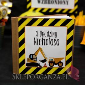 Kolekcja Koparka -Księga gości KOLEKCJA KOPARKA - PERSONALIZACJA