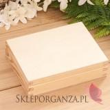 Drewniane pudełko na obrączki - personalizacja