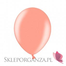 Balony METALICZNE rose gold 30cm, 100 sztuk