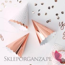 Kolekcja Team Bride - Czapeczki rose gold
